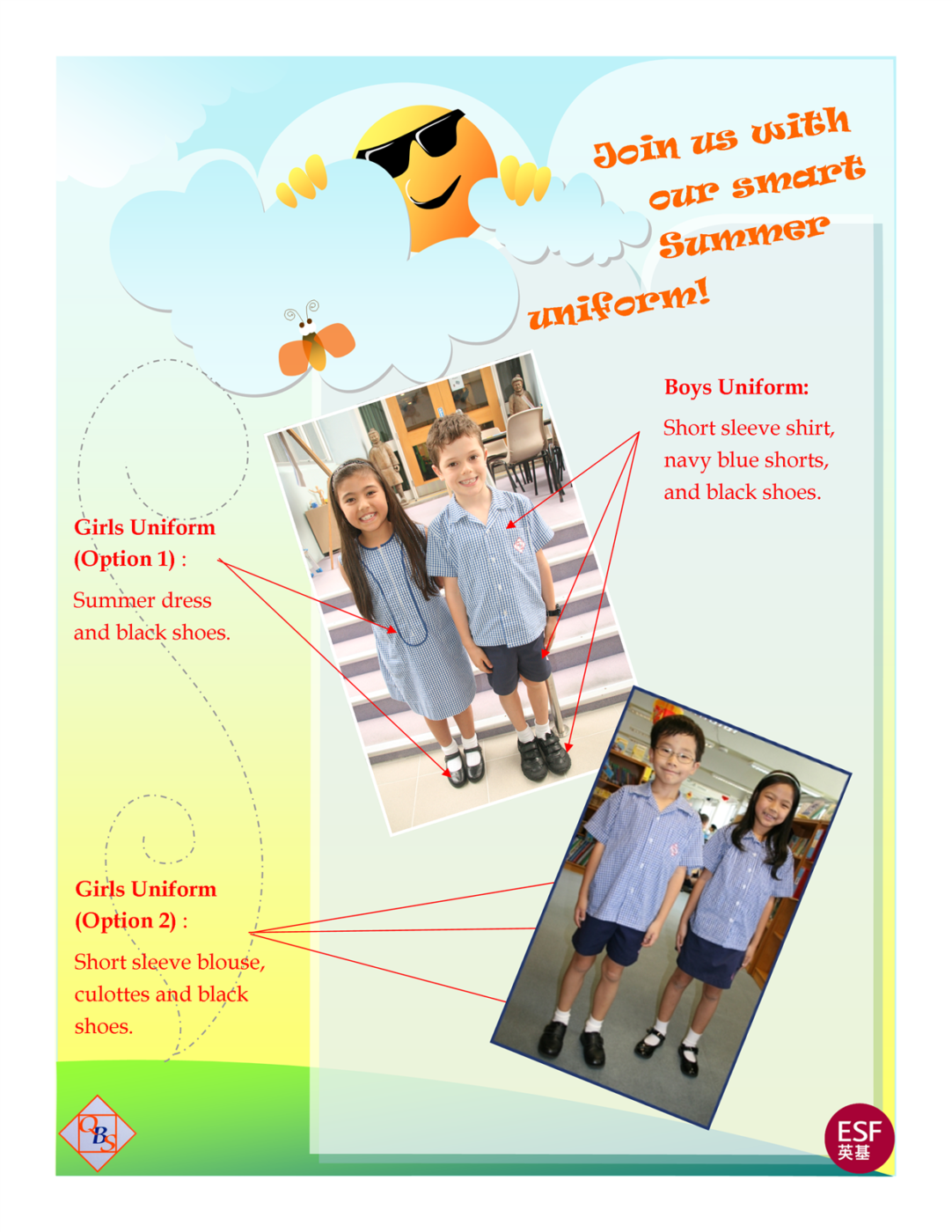 Summer uniform poster 2 Custom